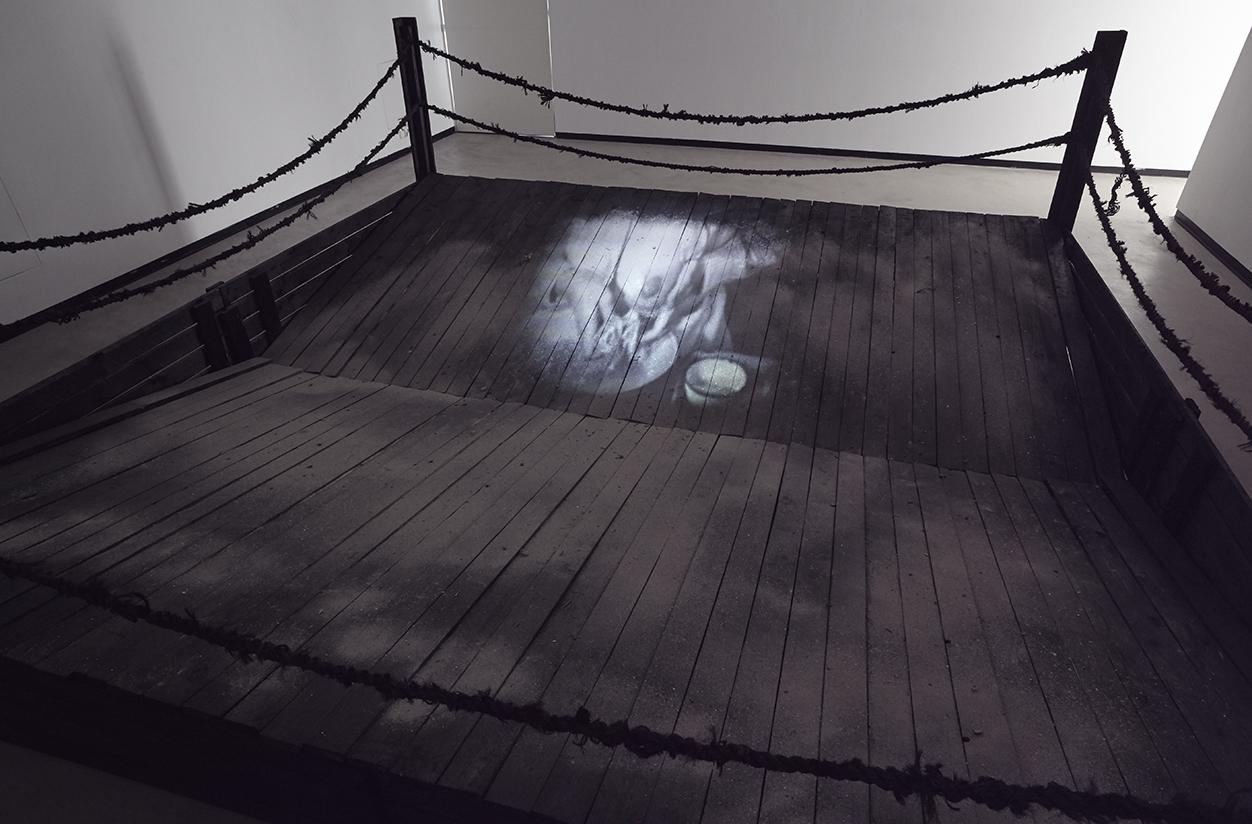 Mika Karhu installaatio